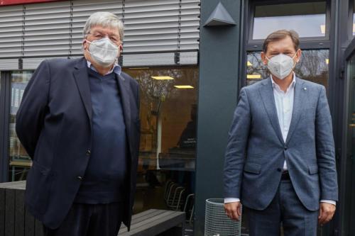 Volker Brüggemann und Frank Dudda