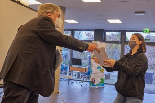 Dr. Otto Ruer Preis - Ehrung 3. Platz